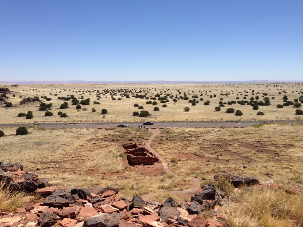 Looking East from Citadel Pueblo
